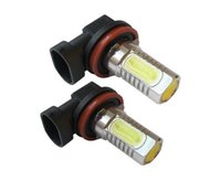 2x 7.5 w xenon branco 12 v h11 h8 poder led cob carro foglight luz de nevoeiro lâmpada h7 h4 h3 h1 1156 1157 9005 9006 a21car luz de sinal de volta