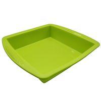 """Contenitore in cera antiaderente in silicone Contenitore per olio in vaschetta quadrata Dab Portautensile per alimenti 8,7 """""""
