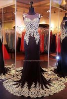 $79.99 Big Discount 2015 Evening Dresses Cheapest Sheer Crew Neck Appliques Beaded Hollow Sweep Train Mermaid Prom Party Gowns