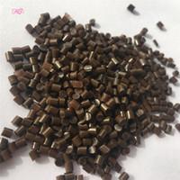 حبوب الكيراتين الغراء القوية 100 ٪ كوليتي حقيقية الايطالية الكيراتين الحبوب الغراء / حبيبات في أبيض بني أسود 100G