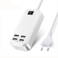 USB зарядное устройство 15 Вт 3A ЕС Великобритания или США Plug HUB адаптер смарт-телефон зарядки док-устройство путешествия для iPhone YOTAPHONE2 HTC LG