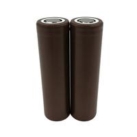 Baterias de dreno alto 18650 HG2 / 3000mAh Capacidade máxima 35A bateria de lítio recarregável HG2 para LG Electonic Ciga