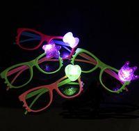 New Cartoon Children LED Glasses Flash Light Emitting Lumine...