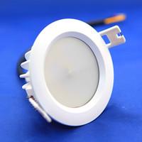 10 stks / partij 9W IP65 Driverless LED Downlight Hoge kwaliteit AC220-240V Waterdichte Dimbare LED Plafond Spot Light Lamp Gratis verzending