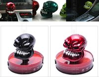 wholesal Universal Cool Skull head car Gear lever Shift Knob...