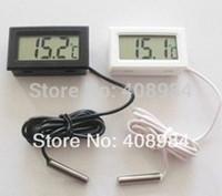무료 배송 디지털 온도계 습도계 냉장고 냉동고 온도 습도 측정기