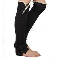 Mulheres Boot meias mulheres para malha aquecedores de pernas para botas de coco