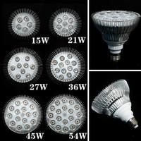 1X Full Spectrum LED Grow Lights 21W 27W 36W 45W 54W E27 LED Grow Lamp PAR 38 30 Bulb For Flower Plant Hydroponics System Grow Box Spotlight