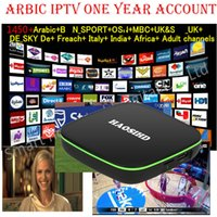 iptv subscription 1 year FireTV with 2500 Arabic Europe Afri...