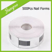 Wholesale- Professional Nail Forms For Nail Polish Form Curl ...