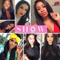 Cheveux vierges malaisiens droit de tissage en gros 3 ou 4 ou 5Pcs / Lot brésiliens cheveux vierges indiens de paquets de cheveux malaisiens Msjoli