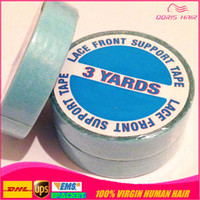 Blue tape roll 1cm*3m Double- sides tape for tape hair and PU...