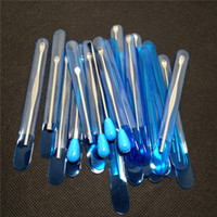 스테인리스 도구 전자 담배 dabber 도구 왁스 건조 유리에 대 한 티타늄 잽 손톱 이전 g5 vgo 프라이팬 atmos 마이크로 gax atomizer 증발기 펜