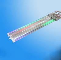 Super bright Multicolor Colorful3528 50CM 78 LED 0.8W/Tube 10 tubes/set LED Meteor outdoor waterproof Light Bulb Christ