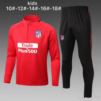 KIDS 2018 new Atletico soccer tracksuit madrid torres survet...