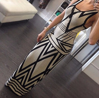 New Fashion Women Summer Dress Sleeveless Package Hip Long D...