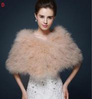 6 genres Disponible Mariage d'hiver Cloak Bridal Fur Fourrure Enveloppe Chapeaux Chapeaux Chapeaux Vêtements De Vêtements De Vêtements De Coréenne Femme Veste Prom Soirée Fête PDJ390
