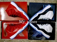 Wholesale 2018 New 11 Gym Red Midnight Navy 11S Space Jam un...