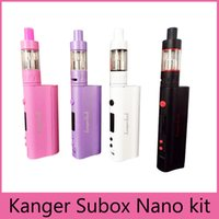 High Quality Kanger Subox Nano Starter Kit with 3ML Subtank ...