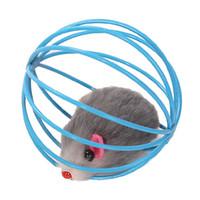 Pet Cat Lovely Kitten regalo divertente gioco giocattoli Palla del mouse, colori vari