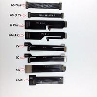 LCD Dokunmatik Ekran Digitizer Lens Flex Uzatma Test Cihazı Kablo iPhone 6 S Için iPhone 4 4 s 5 5 s 5c 6 6 s Artı