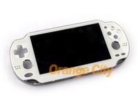 Original für ps vita psvita 1000 weiße LCD-Anzeige mit Touchscreen digital montiert