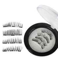 Magnetic False Eyelashes 3D Mink Lashes Reusable three   dua...