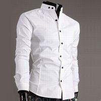 Collarless White Shirt UK | Free UK Delivery on Collarless White ...