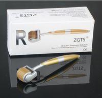 192 иглы система ролика zgts derma / titanium микро-система ролика иглы / zgts dermaroller 192 штырей обработка выпадения волос