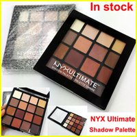 New NYX Ultimate Eye shadow Palette 16 Colors Matte Nude Shi...