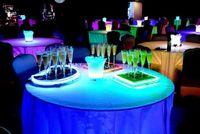 6.8 * 18CM Liquid LED attivo lampeggiante tazza, plastica LED Flash Champagne vetro, LED Flash vetro LED vetro Drink Cup Bar