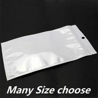 Kunststoff-Reißverschluss Retail-Taschen-Pakete Universal-Handy USB-Ladegeräte-Kabel Kopfhörer-Gehäuse-Paketverpackung für iPhone 6 7 8 plus x XR 11 12 13 Samsung S10 S21 S20