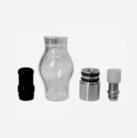 유리 글로브 왁스 분무기 기화기 글로브 모양 세라믹 코일 단일 또는 이중 또는 석영 코일 유리 왁스 원자로
