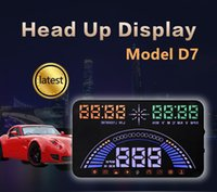 Car HUD Head Up Display 5. 8inch Dual System OBD And GPS Wind...