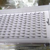 1 bandeja / set Ventiladores de clústeres 5D Extensiones de pestañas PREMADE VOLUMEN TOPT CALIDAD RUSA LASH PRED HECHO FANECOOL FALSOS