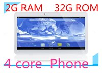 10 pouces phablet 3G Phone Call Tablet PC android 4.4 2G + 32G / 64G MTK6582 Quad Core 1.5Ghz bluetooth Wifi Dual Camera sim 10