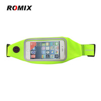 ROMIX RH101 Universal Screen Sports bag Waist Bag Elastic Wa...