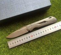 LIBING new Original mechanic folding knife M390 steel TC4 ti...