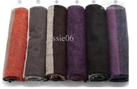 Men' s Long Scarf Winter Autumn Wool Cashmere Stripes Sc...