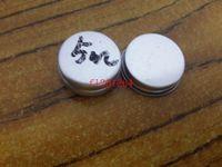 500 PCS Frete Grátis 5ml Bálsamo De Alumínio Bar Pot Frasco 5G Recipientes Comestic com Fenda Do Parafuso Lip Balm Gloss Candle Embalagem
