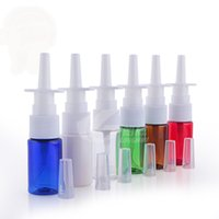 50pcs lot New 10ml Pharmaceutical PET Nasal Spray Bottle, Pl...