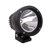 4,5 polegadas 4x4 Rodada 25W LED Luz de trabalho de alumínio CREE Spot LED luzes de condução para veículos off-road Jeep Truck 4WD Offroad Lamp