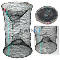 Crab Crayfish Lobster Catcher Pot Bait Trap Fish Net Eel Pra...