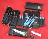 Haoshi 21pcs 스테인레스 스틸 / 스프링 스틸 잠금 장치의 종류에 대한 Piplock 도구 잠금 해제 자물쇠 도구 잠금 선택