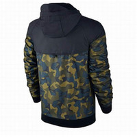 Plus Size Men Jackets Coat Autumn Sweatshirt Hoodie Camoufla...