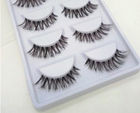 Wholesale- 5 Pairs Natural Sparse Cross Eye Lashes Extension ...