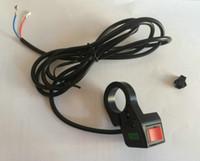 로커는 앞으로 스위치 버튼 전기 자전거 액세서리 MTB 다기능 스위치 변환 부 부품 스쿠터에 오프 기어 스위치 역