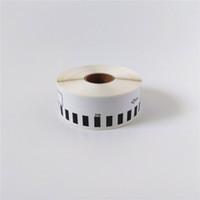 4 x Rolls Brother DK 22210 2210 Kompatibla termiska etiketter 29mm * 30.48m QL 500 560 570 580 700 720 1050 1060