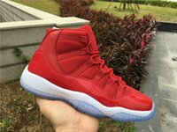 New with box 11 XI High OG Gym Red white women Basketball Sh...