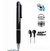N16 8GB Dictaphone 펜 스타일 진짜 Weiting 디지털 오디오 음성 레코더 소매 상자에 MP3 플레이어 25pcs / lot